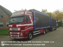 Volvo FH440 6X2 FAL8.0 RADT-A8 MED Kippentransport Schuifzeilen Hefdak trailer truck used tautliner