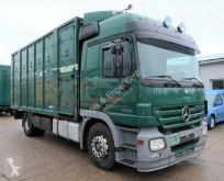 Mercedes lószállító utánfutó teherautó ACTROS 2 1846 L 4X2 LNR Menke 2 Stock Voith-Reta