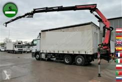 Ciężarówka Plandeka Mercedes ACTROS 2536 L PALFINGER PK 20002 SFZ KLIMA AHK J