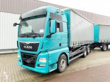 MAN TGX 26.440 6x2-2 LL 26.440 6x2-2 LL mit Liftachse, Intarder, XXL, Standklima trailer truck used tautliner