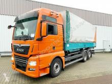 Camion MAN TGX 26.500 6x2-2 LL 26.500 6x2-2 LL mit Liftachse, Intarder, XXL, Standklima cu prelata si obloane second-hand