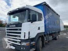 Scania box truck L PLATEAU RIDEAUX