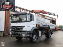 Mercedes three-way side tipper truck Axor 1829 K 2-Achs Kipper Kran Funk, 3xhydr+Greiferst