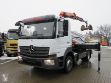 Camion Mercedes Atego 1223 K 2-Achs Kipper Kran Palf. PK 8501 benne occasion