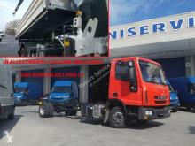 Camión Iveco Eurocargo 75 E 18 volquete volquete trilateral usado