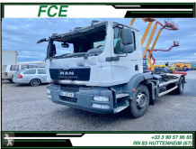 MAN hook arm system truck