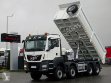 MAN three-way side tipper truck TGS 35.440 / 8X6/3 SIDED TIPPER/ VS-MOUNT /MANUA