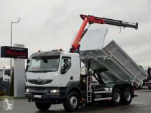 Ciężarówka wywrotka Renault KERAX 380 / 6X4/2 SIDED KIPPER+PALFINGER PK12000