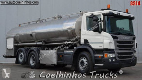 Camion Scania P 410 cisternă second-hand