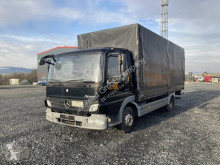 Camión Mercedes Atego 818 L / LBW / TOP ZUSTAND lona corredera (tautliner) usado