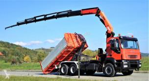 Camião Iveco Trakker poli-basculante usado