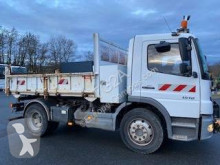 Mercedes Atego 1518 K truck used three-way side tipper