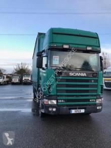 Camião cortinas deslizantes (plcd) Scania R 124R470