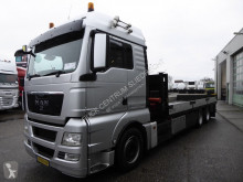 MAN 28.440 6X2-2 BL, euro 5, Palfinger 23002, Remote control, , TUV truck used flatbed