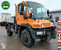 Unimog U 400 405/12 AHK KLIMA SFZ KOMMUNALHYDRAULIK truck used three-way side tipper
