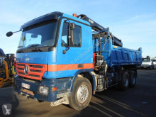 Mercedes Actros truck used two-way side tipper