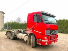 Volvo hook lift truck FH 12 420 6X2 SCARRABILE BALESTRATO ANTERIORE E PN