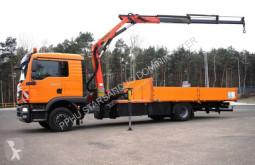MAN flatbed truck TGM 290 PALFINGER PK 11001 DOKA KRAN TOP!