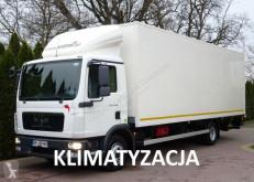 Ciężarówka furgon MAN TGL 12.180 euro 5 kontener winda poduszki