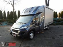 Camion Peugeot BOXERSKRZYNIA PLANDEKA 8 PALET WEBASTO KLIMATYZACJA TEMPOMAT SE savoyarde occasion