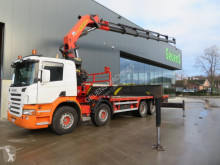 Palfinger Scania P 420 PK56002 truck used flatbed