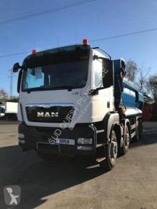 MAN half-pipe tipper truck TGS 35.400