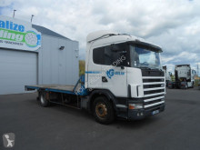 Scania 124 400 truck used flatbed