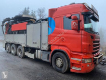 Scania tanker truck R 480 CB 8x4*4 vacuum cleane tuck