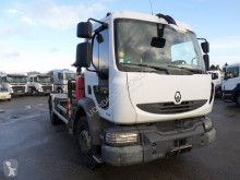 Camión caja abierta teleros Renault Midlum 270.16 Truck crane 7m