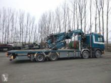 Fassi dropside truck Scania R164 8x4 90T with crane F900 XP90