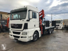 MAN TGX 26.440 truck used heavy equipment transport