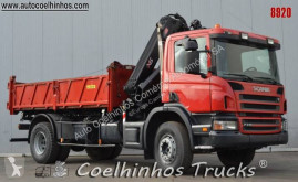 Scania two-way side tipper truck P 310