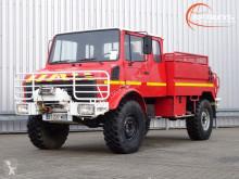 Camión bomberos Unimog 1300L (435) Mercedes Benz, Doppelkabine, 2000 ltr. - Expeditievoertuig, Camper