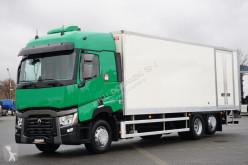 Renault box truck T 380 / EURO 6 / KONTENER + WINDA / 21 PALET