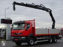 Ciężarówka platforma Renault KERAX 380 DXI/6X4/L:6,3M+CRANE HIAB 166/RADIO