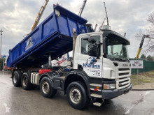 Scania two-way side tipper truck P 420