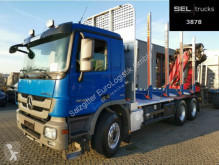 Camión maderero Mercedes Actros 2648 / Kran Epsilon M100