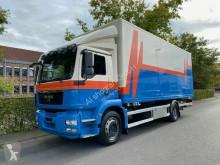 Teherautó MAN TGM 18.250 EEV KOFFER Wechselfahrgestell LBW használt furgon