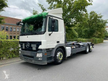 Mercedes Actros 2541 6x2 MEILLER RK20.70 Abrollkipper truck used skip