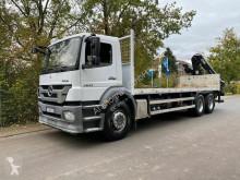 Kamión valník bočnice Mercedes AXOR 2633 Baustoff mit HIAB KRAN 144 B S-3 HIDUO