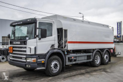 Scania L truck used oil/fuel tanker