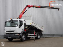 Camion Renault Midlum benne occasion