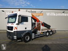 Camión caja abierta teleros MAN TGX 26.440 6x4,PK53002-SHD Falt, Funk, TwistLock