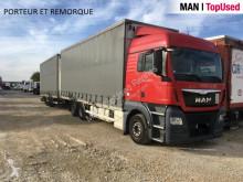 Kamión valník s bočnicami a plachtou MAN TGX 26.480 6X2-2 BL