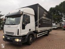 Iveco ponyvával felszerelt plató teherautó Eurocargo 120 E 24
