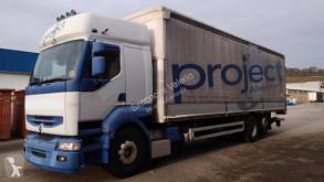 Kamión valník s bočnicami a plachtou Renault Premium 420.26