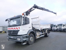 Mercedes two-way side tipper truck Axor 1833