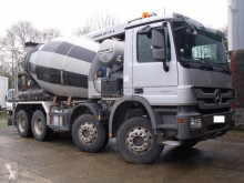 Mercedes truck used concrete