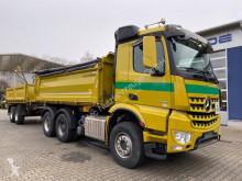 Camion remorque benne Mercedes Arocs 2646 6x4 E6 DSK Mit Bordmatik +Tandemanh.