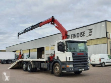 Camion Scania P 94 porte engins occasion